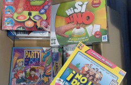 Juegos y puzzles hospital Can Ruti (Badalona)
