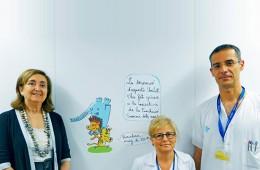 UCI hospital Vall d'Hebron estrena decoració