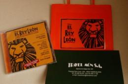 Musical Rey Leon para Aidan