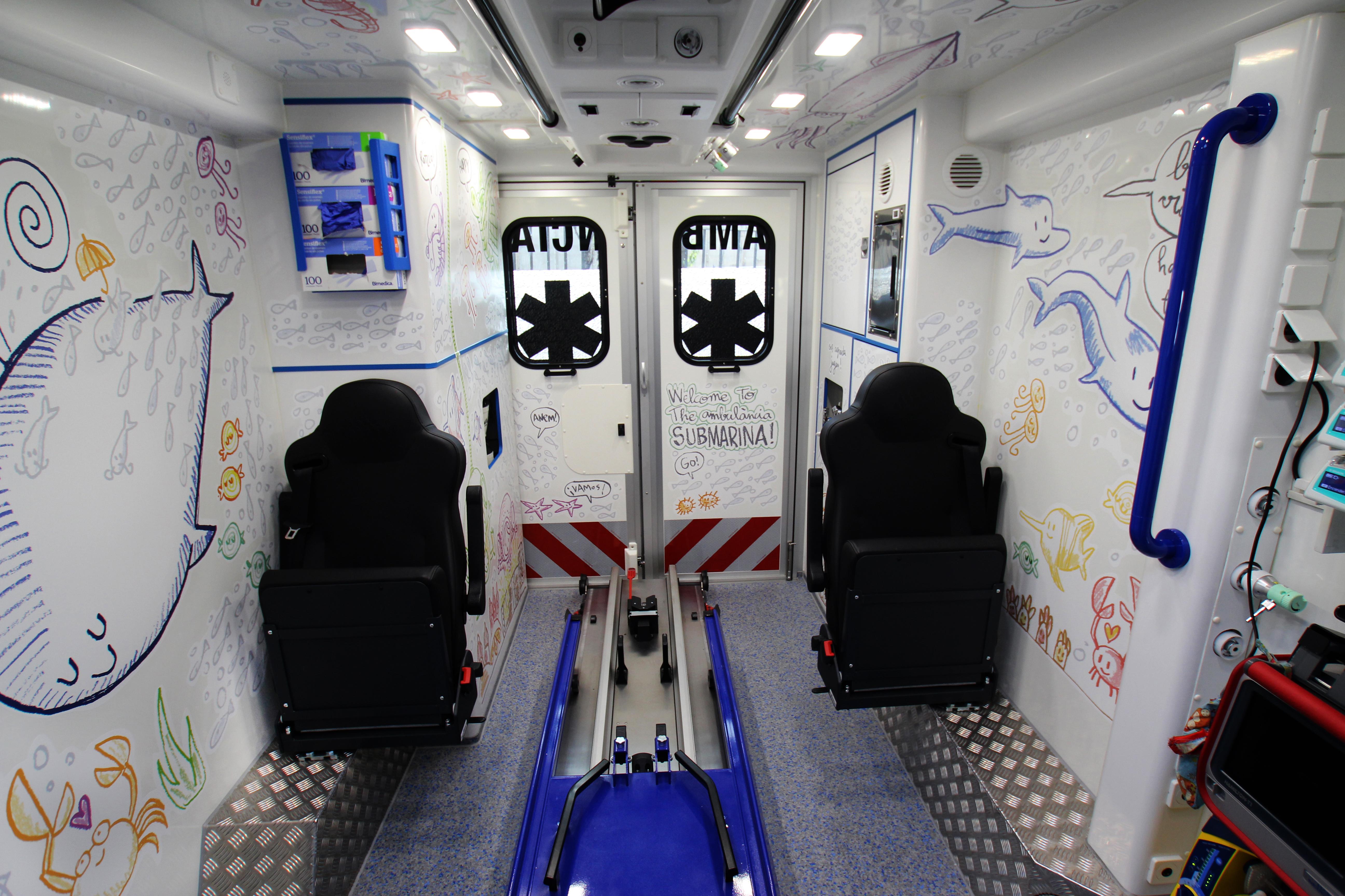 Benvinguts a l'ambulància submarina