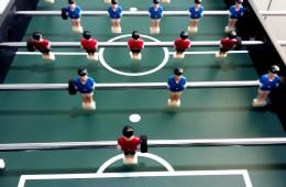 Futbolin per l'hospital Vall d'Hebrón