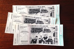 "Entrades concert ""5 Seconds of Summer"""