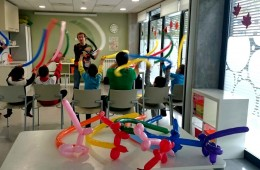 Taller globoflexia centre d'educació especial ESTIMIA