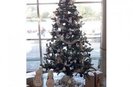Arbol de Navidad para el hospital Vall d'Hebrón
