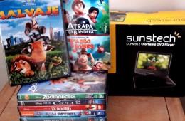 DVD Portátil y películas para el hospital Vall d'Hebrón