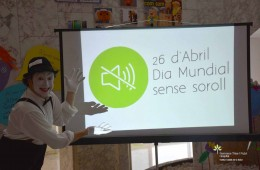 """Participem en el """"Dia Mundial sense soroll"""""""