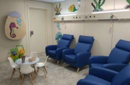 Decoramos la sala de nebulizaciones del Hospital Vall d'Hebrón