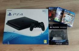 PSP4 i 3 jocs