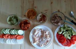 Talleres de cocina para niños con obesidad