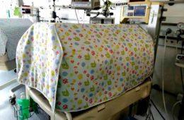 Cobertores y cortinas para la Uci Neonatal