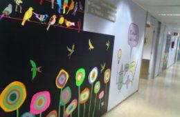 Humanització Planta Pediàtrica Can Ruti (Badalona)