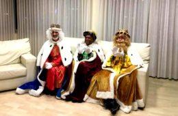Los Reyes Magos visitan la Casa McDonald