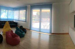 Sala projeccions Casa McDonald